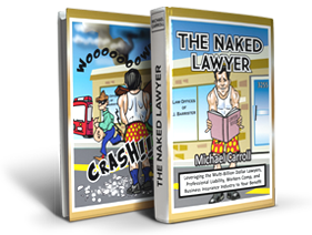 Michael Carroll the naked lawyer